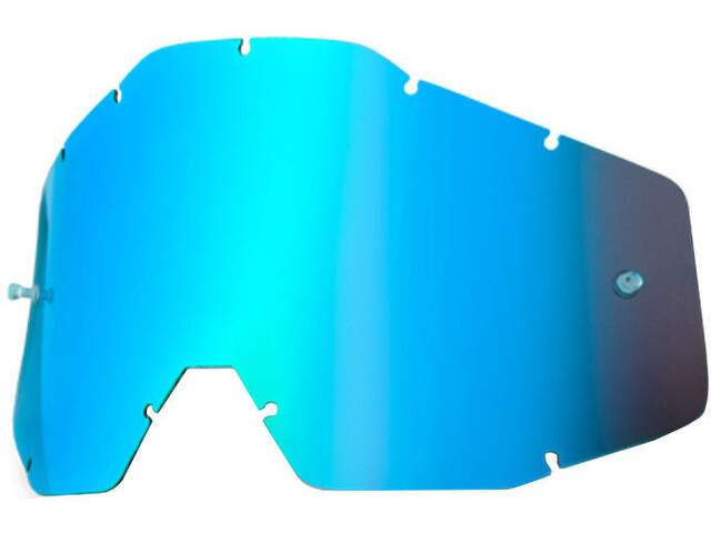 100% Wechselglas blau